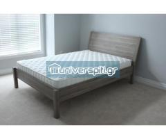 Κρεβάτι-τάβλες-στρώμα