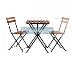 Τραπεζάκι με 2 καρέκλες