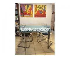Τραπέζι σαλονιού/κουζίνας TORSBY με Καρέκλες TOBIAS IKEA