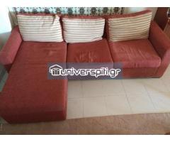 Γωνιακός καναπές-κρεβάτι