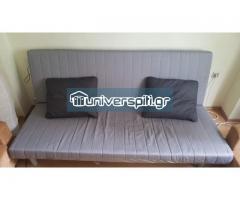 Καναπές-κρεβάτι (πλάτος 2,00μ) με αποθηκευτικό χώρο