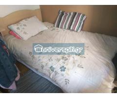 Κρεβάτι Ημίδιπλο με στρώμα