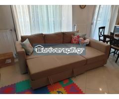 Καναπές κρεβάτι με αποθηκευτικό χώρο 3 σε 1. ΤΙΜΗ ΕΥΚΑΙΡΙΑΣ!