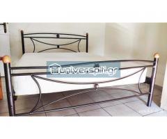 Διπλό κρεβάτι με στρώμα Candia Strom