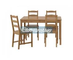 Τραπέζι ΙΚΕΑ 120χ75 με 3 καρέκλες