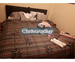 Κρεβάτι υπερδιπλο με στρώμα