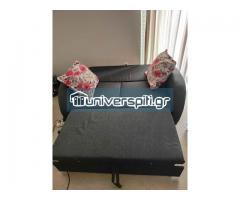 Καναπές - κρεβάτι με πτυσσόμενη πλάτη
