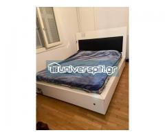 κρεβάτι μαζί με στρώμα ανατομικό