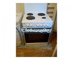 Φούρνος Ηλεκτρικός (Esco ETF1000.60U2 Κουζίνα Εμαγιέ)